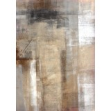 Brown and beige art abstract