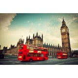 Big Ben & Double Decker Bus London