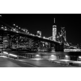 Brooklyn bridge at night